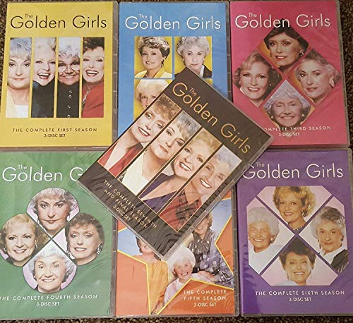 The Golden Girls: The Complete Series Seasons 1-7 DVD
