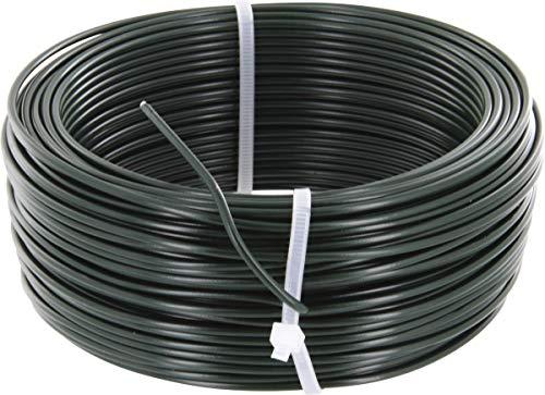 Brico-materiaux - Fil de tension galvanisé plastifie / Blanc - 2.7 - 100