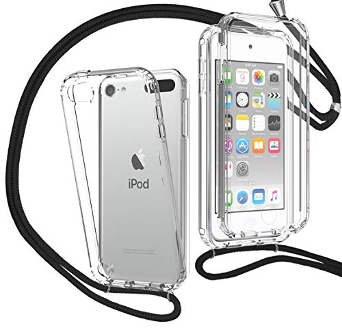 MXKOCO Funda con Cuerda para iPod Touch 5/6/7(2019) [360 Grados