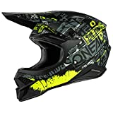 Oneal 3Series Ride Casco Motocross Nero/Giallo Neon S (55/56)