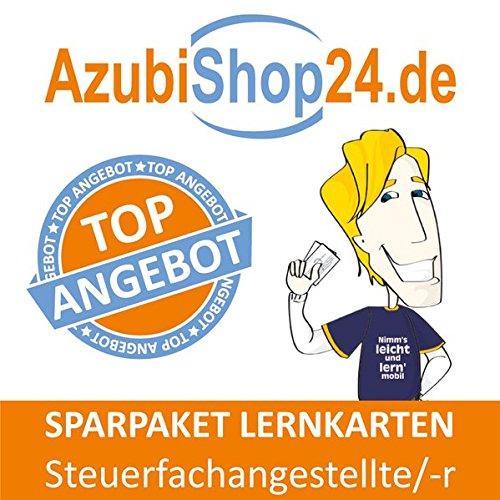 AzubiShop24.de Spar-Paket Lernkarten Steuerfachangestellte / Steuerfachangestellter: Prüfungsvorbereitung auf die Abschlussprüfung zum Sparpreis