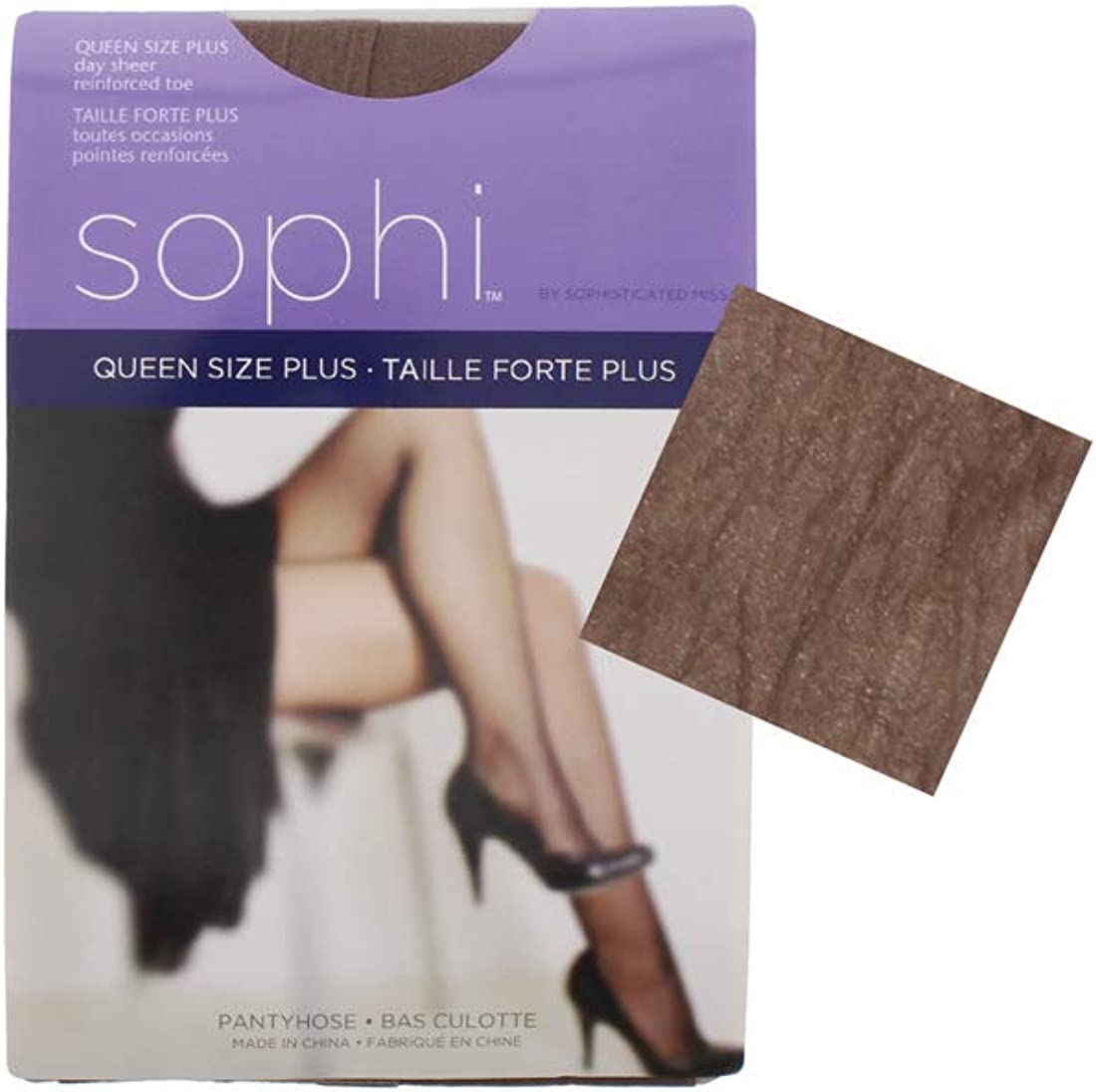 Womens Pantyhose Stockings Nylons 3 Pack Reinforced Toe