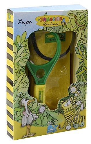 Beluga Spielwaren 65062 - Janosch Abenteuer Lupe mit Kompass, gelb/grün