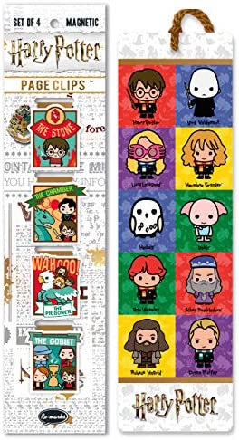 Re marks Harry Potter Stories Collage Gift Set of 5 Bookmarks Includes 4 Magnetic Page Clips product image