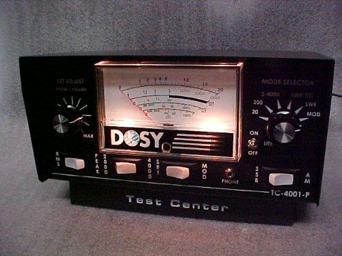 Dosy CB Ham Radio SWR Watt Meter TC-4001P Test center