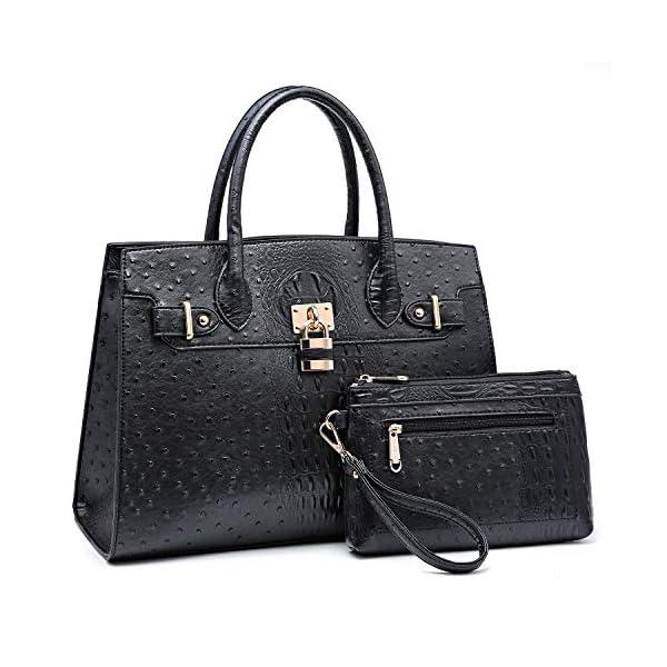 Dasein Women Handbags and Purses Ladies Shoulder Bag Top Handle Satchel Tote Work...