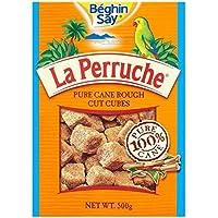 A La Perruche La Perruche Corte Cubos De Azúcar Marrón Áspero 500g