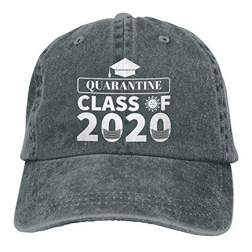 TERRY GARRARD Class of 2020 'Quarantined' Cowboy Caps Unisex Adjustable Trucker Baseball Hats Deep Heather
