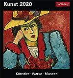 Kunst Kulturkalender. Tischkalender 2020. Tageskalendarium. Blockkalender. Format 15,4 x 16,5 cm - Harenberg