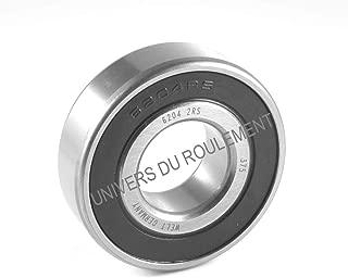 ECD Germany 2 x RL7509 Set Cuscinetti Ruota Anteriore con Sensore ABS Mozzo Ruota Anteriore Set Cuscinetti Ruota Set Cuscinetto Ruota Cerchio a 5 Fori Cuscinetto Ruota Mozzo della Ruota per Aut