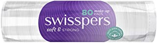 Swisspers Make-Up Pads, 80 count