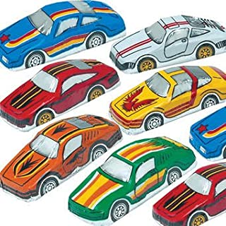 Milk Chocolate Foil Wrapped Super Racing Cars 60 pc box