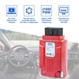 COODIO SVCI J2534 Diagnostic Tool for Fo-rd & Ma-zda Support Online Module Programming Better Than VCMII red