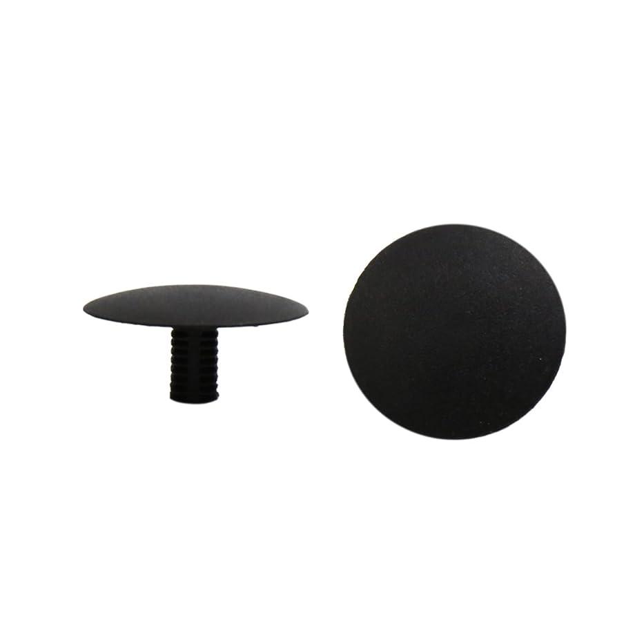 Uxcell a16101000ux0251 100Pcs Black Plastic Rivets Bumper Fender Carpet Mat Moulding Clips 6.5 x 6.5mm 100 Pack