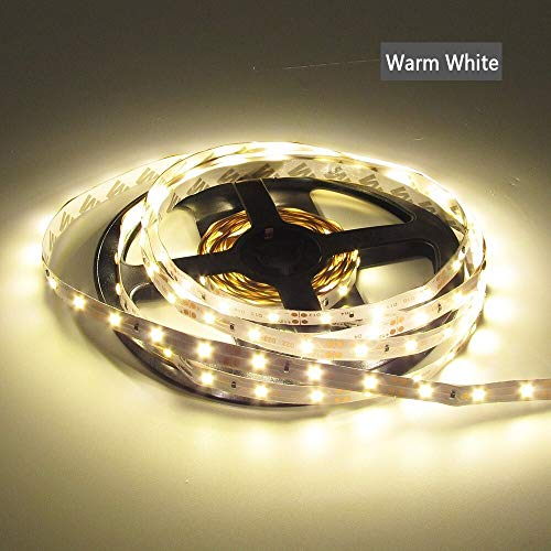 Sunxk DC 12V RGB LED Strip Light PC 2835 5M waterdicht 12V Neon Tape Flexibel LED Strip Adapter afstandsbediening IR Complete set SUNXK