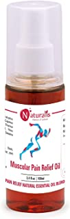 Naturalis Essence of Nature's Muscle and Joint Pain Relief Oil 100 Ml Pack of 1