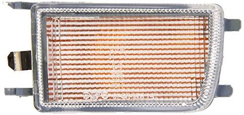 Depo 3301125 Gauche, feu parachoc, sans porte-lampe, blanc