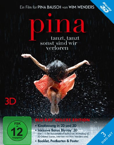 Pina (+ Blu-ray) (+ Bonus Blu-ray 3D) [Deluxe Edition]