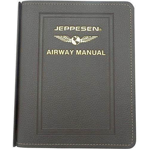 Jeppesen Airway Manual Standard Leather Binder AM621134