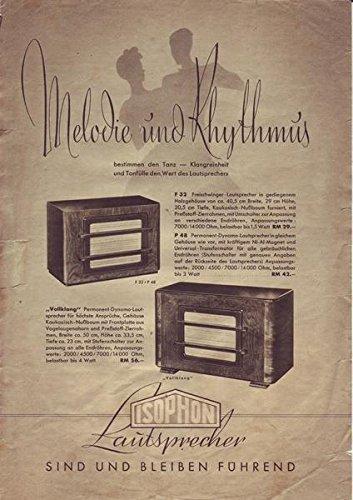 Isophon Lautsprecher Melodie und Rhythmus