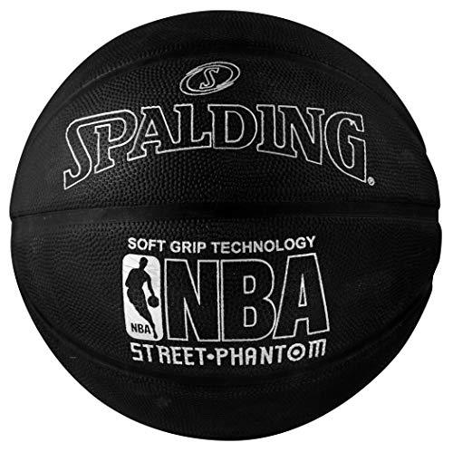 Spalding NBA Street Phantom Basketball, 74,9 cm, Silber/Schwarz
