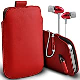 ( Red + Earphone ) Acer Liquid Z630S case ( cover for Acer