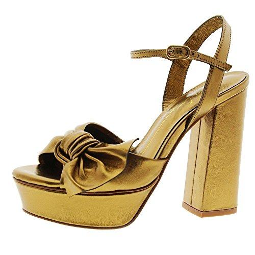 Zapatos Mujer Sandalias Lola Cruz 067p15bk Bronce 40