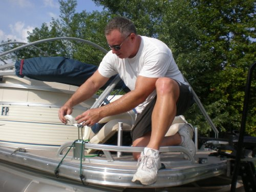 Extreme Marine Products Arnall's Dual Arch Support System for Pontoon Covers- 5 Sets