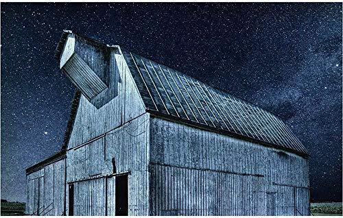 Jigsaw Puzzle Country Barn Building Art Under The Stars 1500-6000 Juegos intelectuales para adultos-6000 tabletas