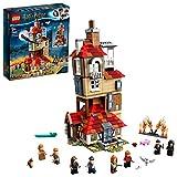 LEGO Harry Potter 75980 - Attacco alla Tana, set Lego ispirato al film di Harry Potter