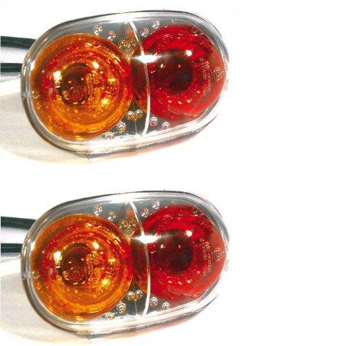 Moto clignotant-feu arrière de combinaison-installation, version conformes