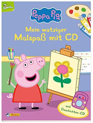 Peppa: Mein wutziger Malspaß mit CD: Mit Geschichten-CD (Peppa Pig)