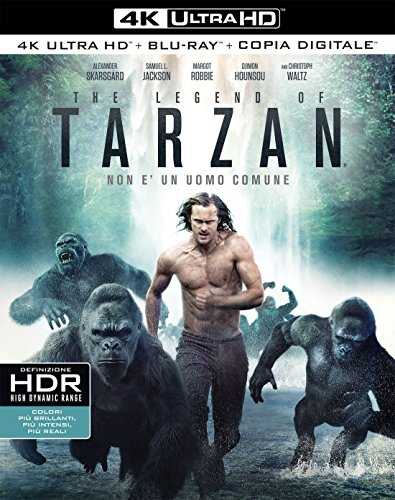 The Legend Of Tarzan (4K+ Br+ Digital Copy)