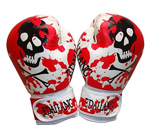 BLANCHO BEDDING 10 oz Refroidir Sukll la Formation des Adultes Gants de Boxe pour Kickboxing, Sparring, Muay Thai