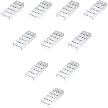 Chip Rack Holds 100 Chips GSE Games /& Sports Expert Clear Acrylic Casino Poker Chip Tray Single//10-Pack