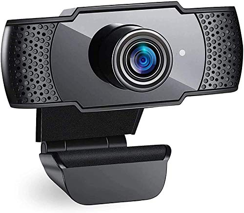 2K Webcam per PC 1080p Full HD con Microfono Stereo,Videocamera Web USB per Videochiamate, Studio, Conferenza,Microfono a Cancellazione del Rumore per PC Desktop Laptop TV USB Webcam