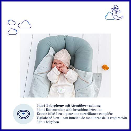 Dräger Dreamguard smarter Baby-Bewegungssensor mit integriertem Babyphone | Baby-Monitor mit App-Nutzung auf dem Smartphone | Für zuhause & unterwegs - 2