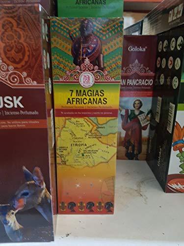 Qaromas Incienso Goloka 7 Magias Africanas 6x20