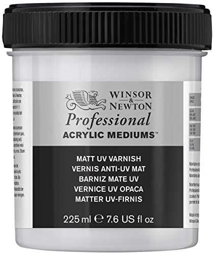 Winsor & Newton - Vernice acrilica opaca, resistente ai raggi UV, 237 ml