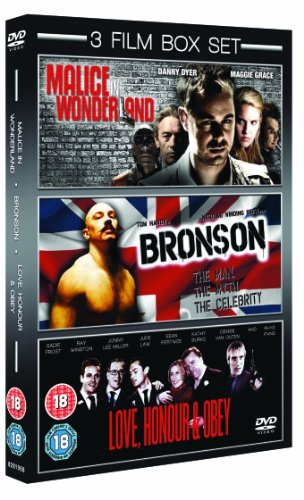 Malice In Wonderland/Bronson/Love, Honour And Obey [DVD] by Tom Hardy