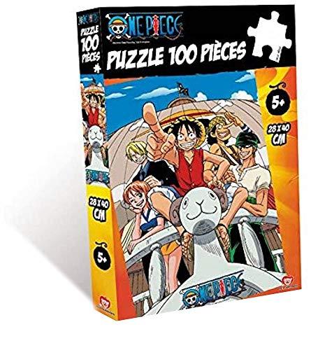 OBYZ Puzzle One Piece Going Merry 100 Piezas 28 x 40 cm PZL0047