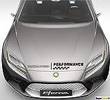 SUPERSTICKI® Mazdaspeed Motorhaube Rennflagge Fahne ca 60 cm Aufkleber Sticker Decal aus Hochleistungsfolie Aufkleber Autoaufkleber Tuningaufkleber Racingaufkleber Rennaufkleber au