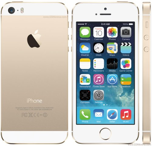 Original AppleiPhone Compatible Mobile Apple iPhone 5S 64GB Silver Gold Space Gray (Gold)