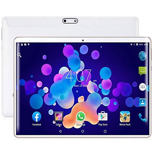 tablet con Pantalla de versión Android Pantalla táctil de Alta definición de 10 Pulgadas Memoria con Sensor de 8 núcleos cámara Frontal y Trasera de 2GB + 32GB