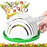 Salad Cutter Bowl, TMABOX Upgraded Salad Maker Family Size Fast Vegetable Cutter Bowl, Fruit Slicer Salad Slicer Salad...