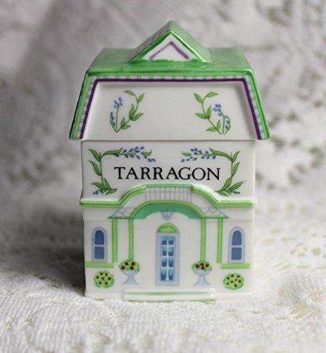 Lenox 'Spice Village' Porcelain Victorian House Spice Jar - Tarragon