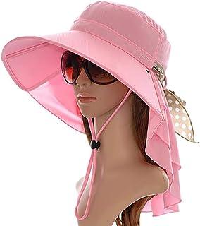 ZHIPENG Sombrero para El Sol, Protección Solar Portátil, Material De Poliéster De Algodón Suelto Plegable, Protección UV para Excursiones De Playa Al Aire Libre: El Mejor Sombrero para Mujer