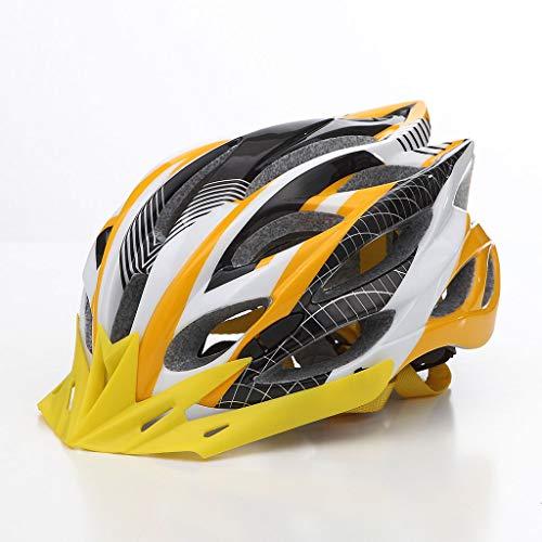 LXMJ helm voor outdoorfiets, ultralichte helm met hoge weerstand, geïntegreerde fietshelm, mountainbike-helm/bus