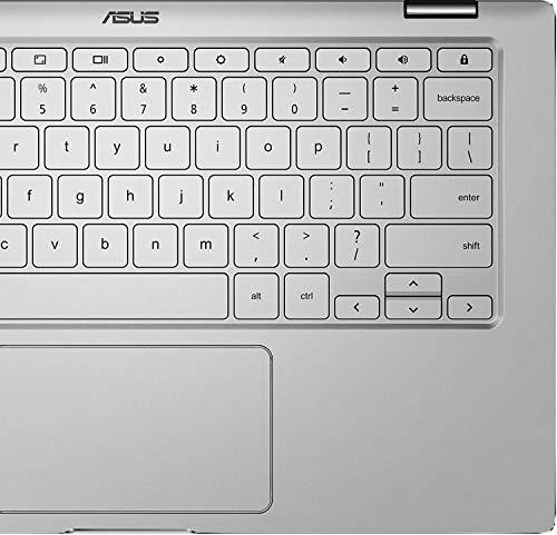 Product Image 6: ASUS Chromebook Flip C434 2-In-1 Laptop- 14″ Full HD 4-Way NanoEdge Touchscreen, Intel Core M3-8100Y Processor, 8GB RAM, 64GB eMMC Storage, Backlit KB, Chrome OS- C434TA-DS384T Silver