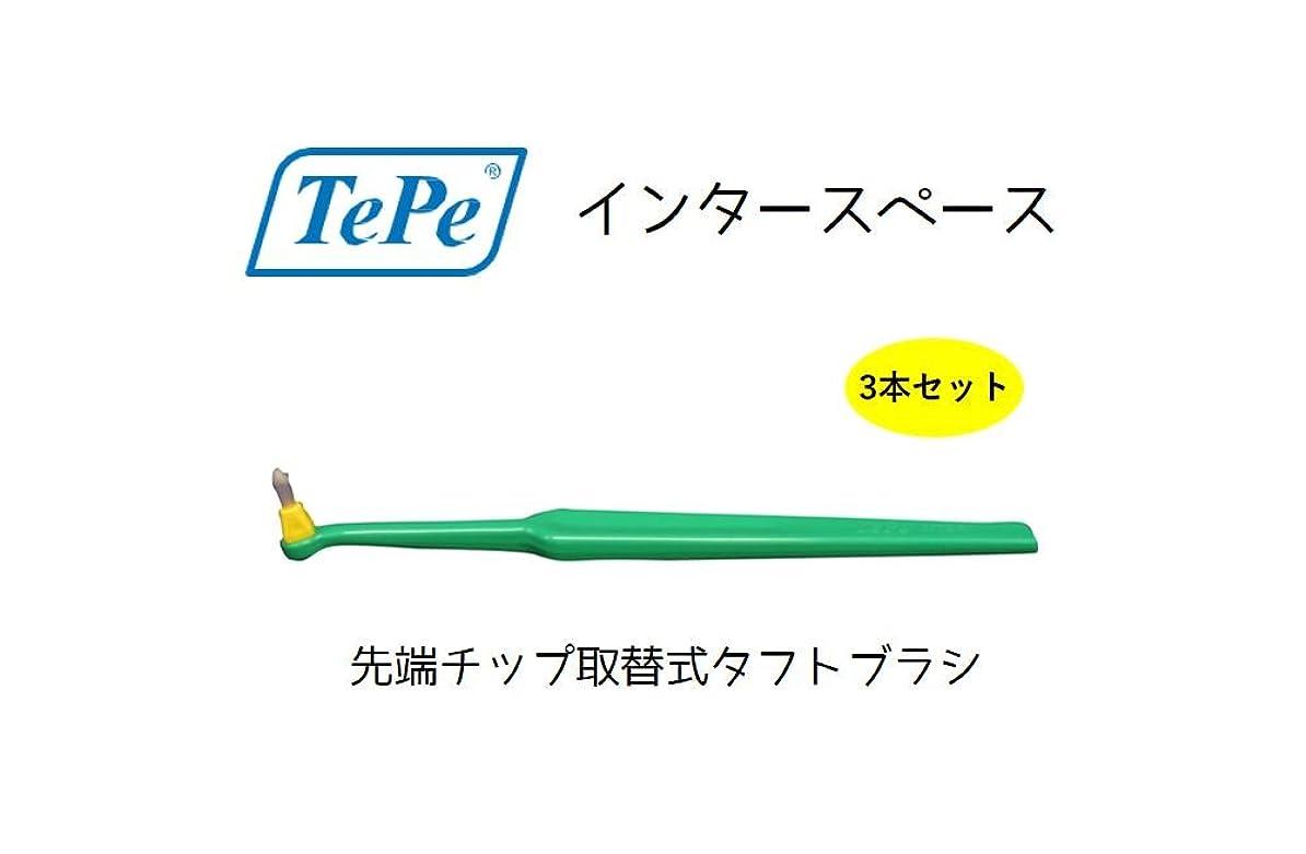 スパン家事ゴールデンテペ インタースペース ソフト 3本 TePe interspase